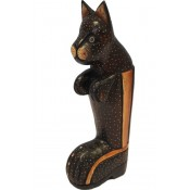 Figurka Drewniana 27X11Cm  Kot W Butach