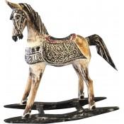 Drewniana Figurka -Koń-Przec.