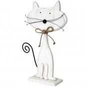 Figurka Drewniana Kot