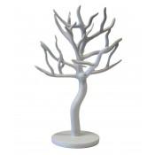 Art. Dekoracyjny Drzewko Białe 23X18X31Cm (4)
