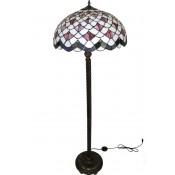 Lampa Witrażowa Podłogowa (Ii Cz)