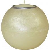 Pl Świeca Lampion Kula 120 Tealight Ecru