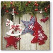 Pl Serwetki Christmas & Stars
