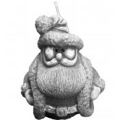 Pl Srebrny Świeca Mikołaj