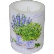 Pl Lampion Basil & Lavender